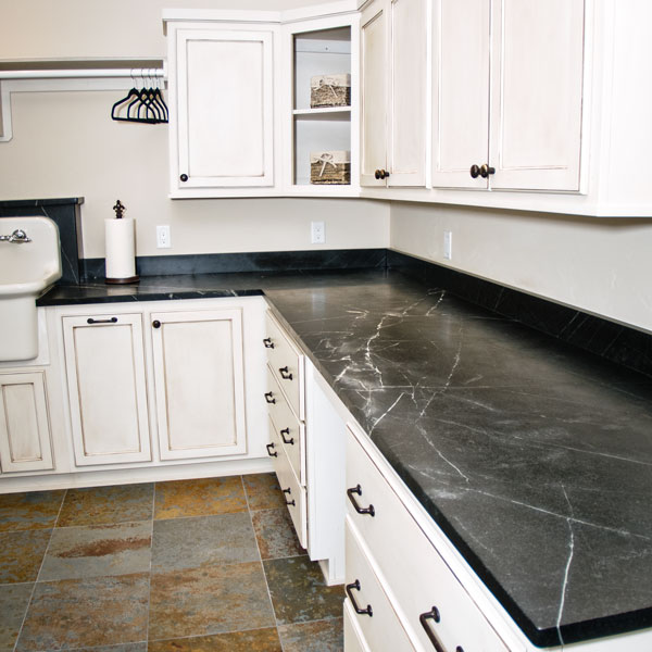 black-soapstone-countertop